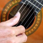 3 rasgueos de guitarra